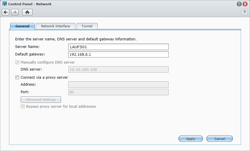 add second default route to Synology NAS – Josh's IT-Blog