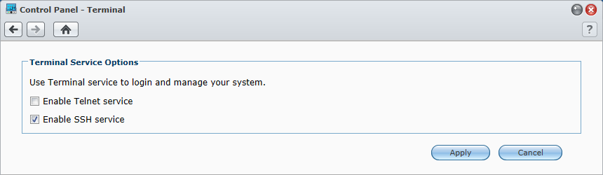 add second default route to Synology NAS
