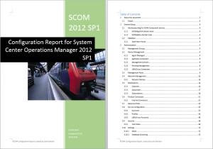 SCOM configuration report